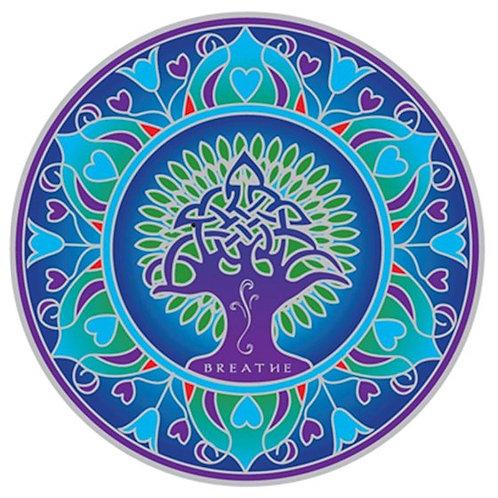 Adhésif fenêtre Earth Mandala