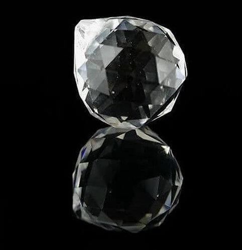 Boule de cristal à facettes Feng-Shui