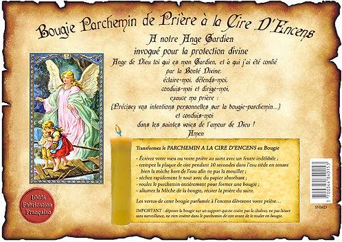 PARCHEMIN DE CIRE ANGE GARDIEN