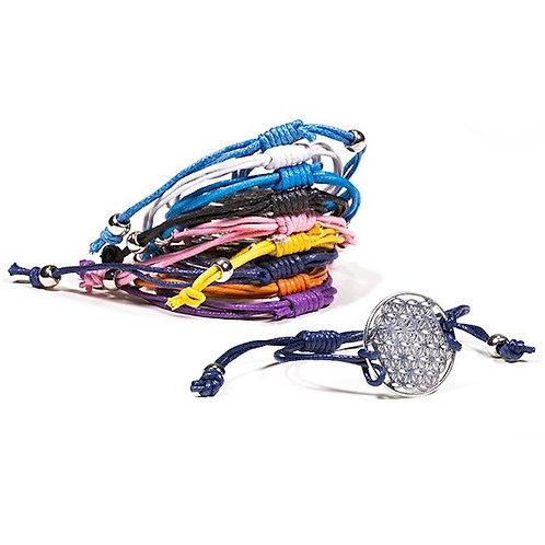 Bracelets Fleur de Vie  de couleur différentes