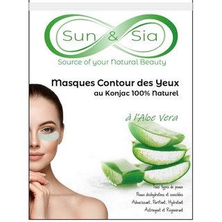 Masque Konjac Contour des Yeux à l'Aloe Vera