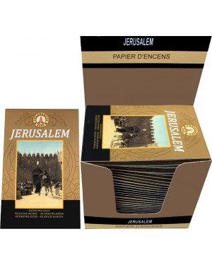 Papier d'encens Jérusalem