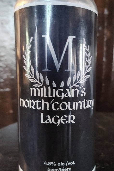 Milligan's North Country Lager 6Pack