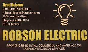 brad robson electric