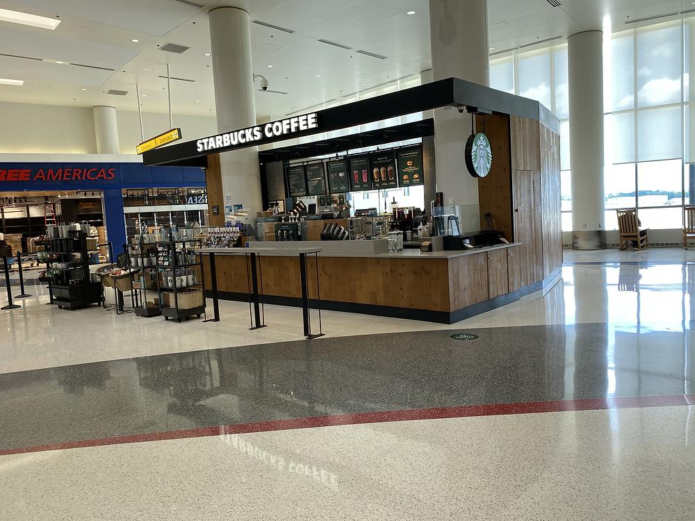 Empty Starbucks