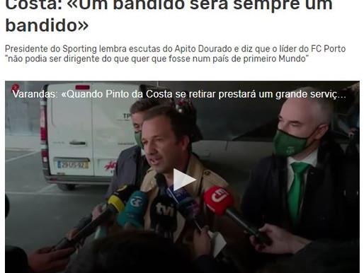 Luís Teves 28/10/2020 - O BANDIDO CONFUNDIDO!