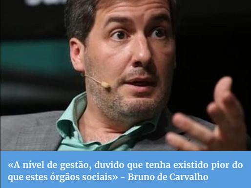 Parte II Entrevista Diário do Distrito - Bruno de Carvalho