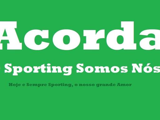 Rugido Verde 23/08/2020 - #AcordaSporting, o Sporting somos NÓS!