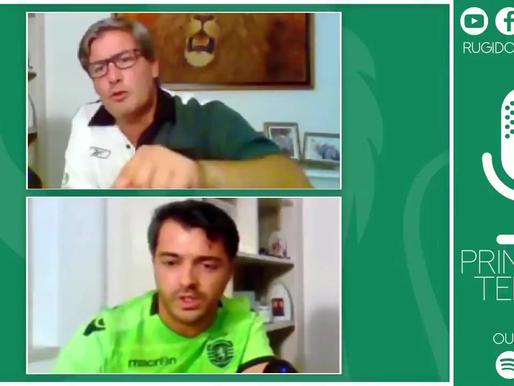 21/09 às 21h - Rugido Verde com Bruno de Carvalho e Alexandre Godinho