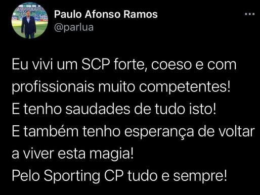Paulo Afonso Ramos 27/10/2020 - EU JÁ VIVI UM SPORTING FORTE!