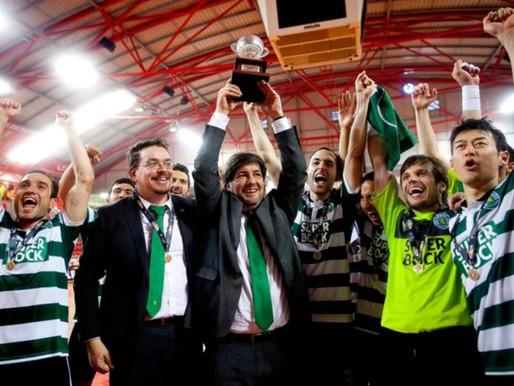 Sporting Campeão de Futsal em 2013 - Primeiro Campeonato de Nuno Dias e Bruno de Carvalho