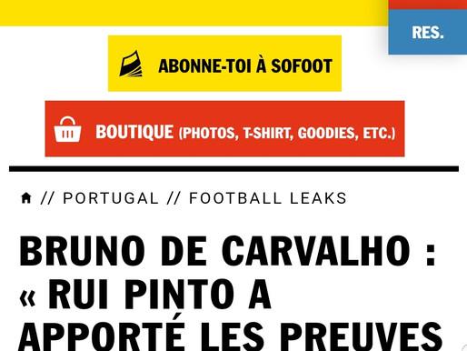 Entrevista de Bruno de Carvalho à revista francesa So Foot