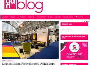 DDN Blog London Design Festival 2019