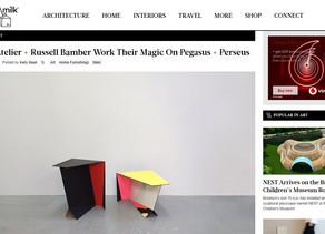 Design Milk /// 06D Atelier + Russell Bamber Work Their Magic On Pegasus + Perseus
