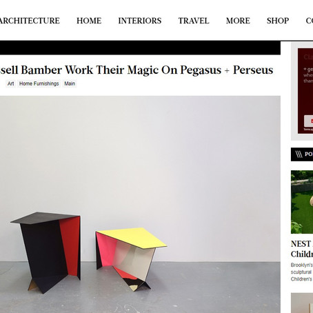 Design Milk /// 06D Atelier + Russell Bamber Work Their Magic On Pegasus + Perseus