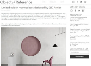 Object of Reference - Interview