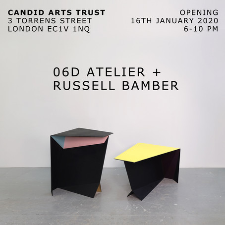 06D Atelier + Russell Bamber at Candid Arts Show 2020, London