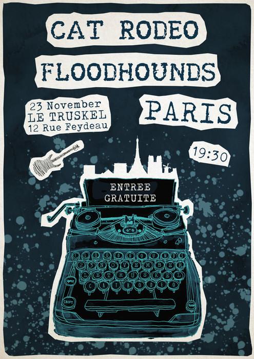 23rd Nov - Le Truskel - Poster