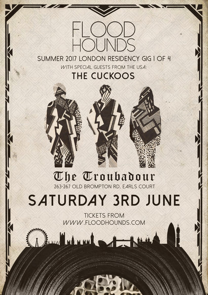 FloodHounds London Residency