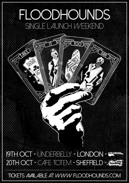 FloodHounds Concert Poster