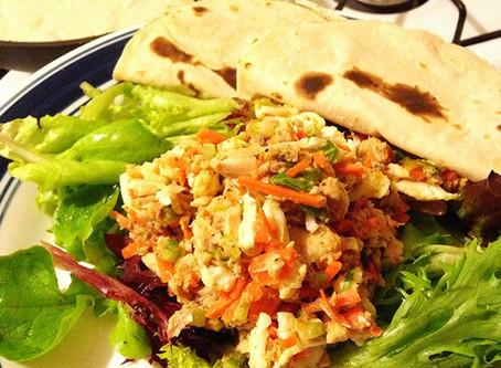 Spicy Salmon and Vegetable Salad