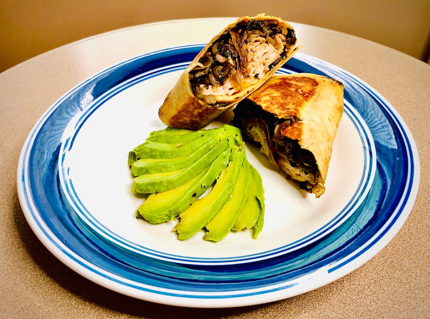Protein Breakfast Wrap