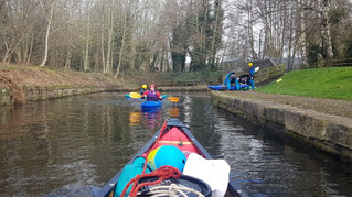 Aqueducts and Tunnels on the Llangollen canal Mar 19