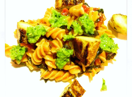 A Vegan Pasta Dish That Made Me Excited!