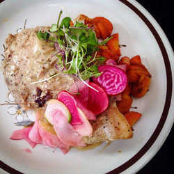 Seared Pork Chop