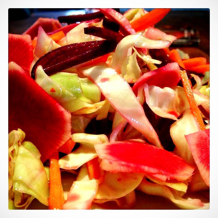 Julienne Vegetable Salad