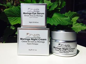 Moringa Eye Serum and Night Cream