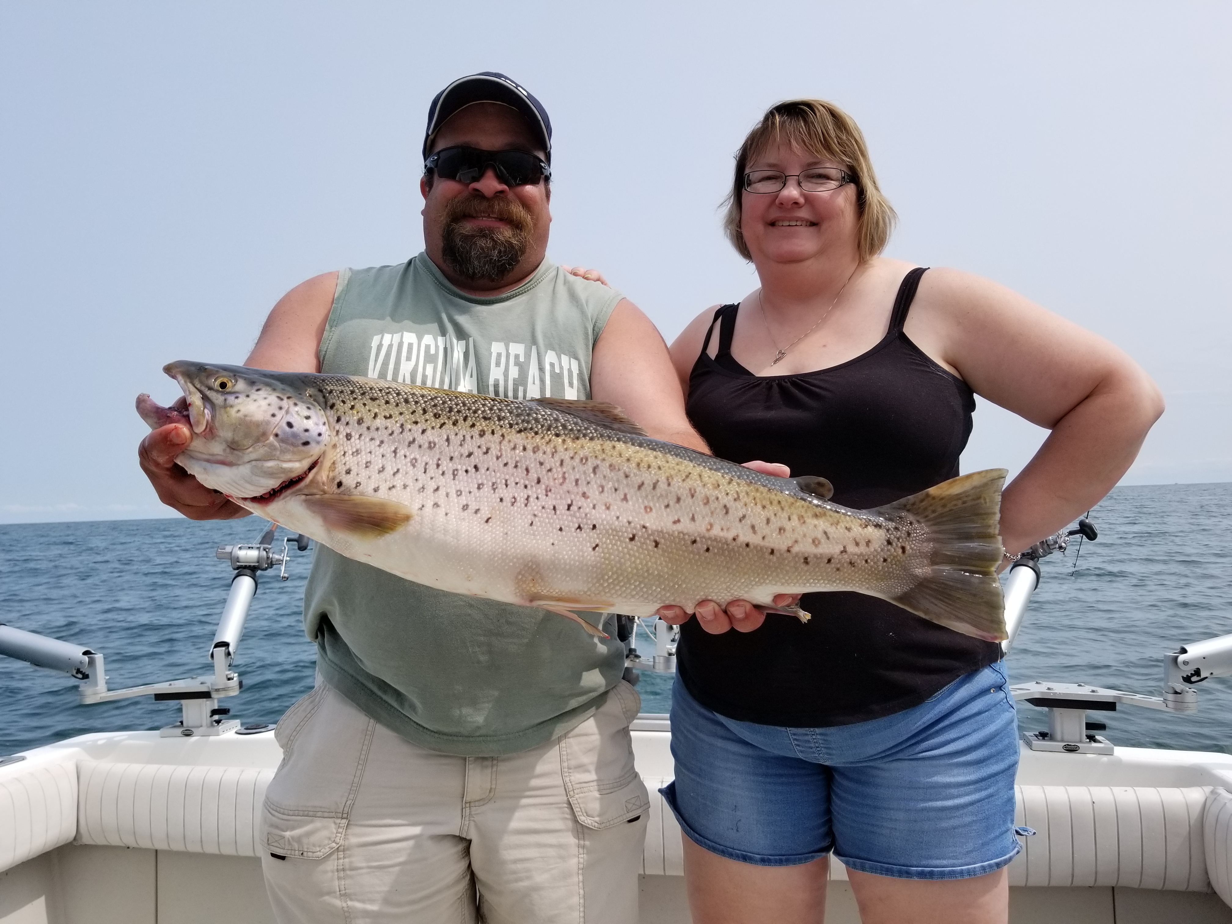 charter fishing lake ontario