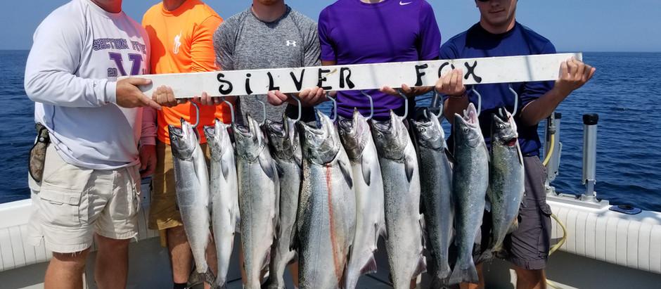 Lake Ontario fishing charters near Rochester NY
