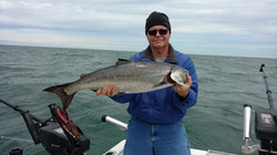 lake ontario fishing charters sandy cree