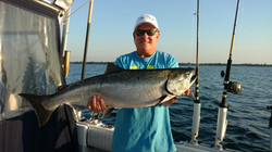 lake ontario king salmon fishing charter