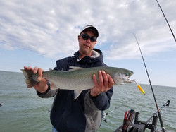 brown trout fishing charters lake ontari