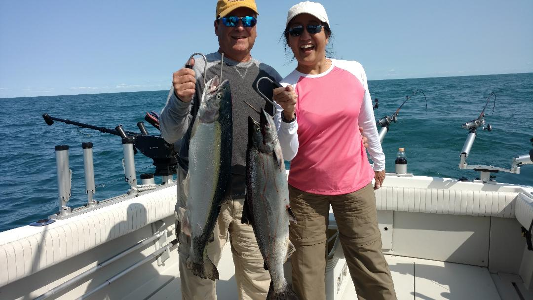 fishing charters lake ontario