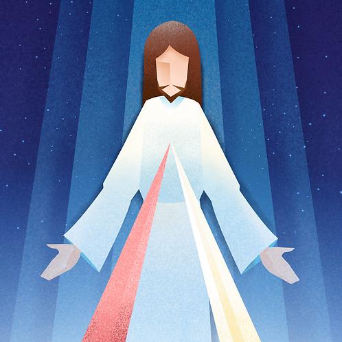 Jesus Divine Mercy - Lòng Chúa Xót Thương