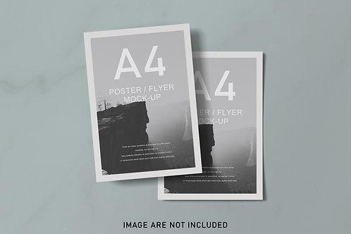 Poster A4 Mokup