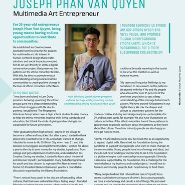 JOS Foundation on the ASEAN Magazine - Issue 4