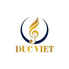 Duc Viet Music Logo - Catholic Logo Design - Thiết kế Logo Công Giáo Đức Việt Thánh Ca Music