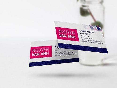 Business Card Hoa Văn Thổ Cẩm 01