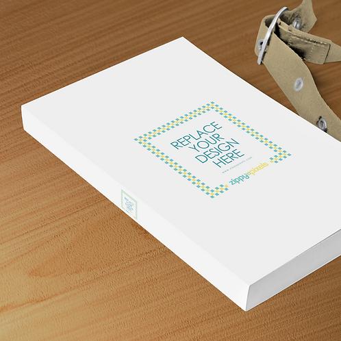 6 Book Mockup A Size Paper
