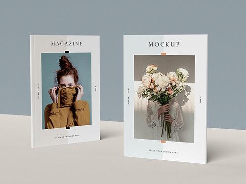 Mockup tạp chí