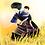 Thumbnail: Mẹ cõng con thu hoạch lúa