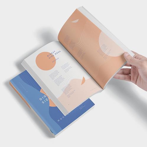 Mockup Book - A Paper Size