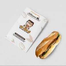 Tân Bánh Mì Logo Design