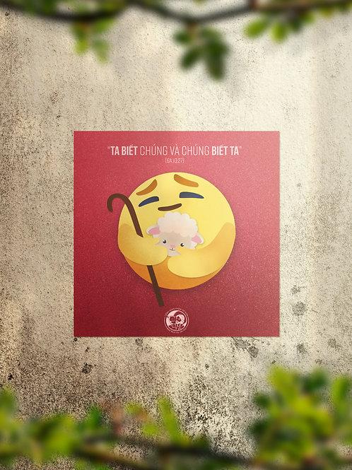 Good shepherd Emoji - Thương thương Chúa Chiên Lành