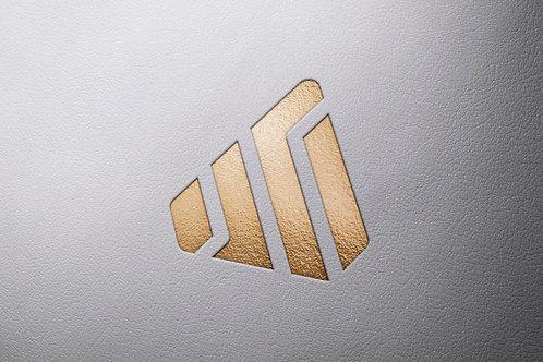Logo Mockup Leather