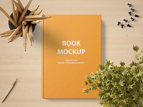 Mockup Book Hard Cover